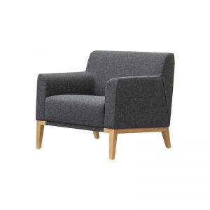 Lisbon Wool Lounge Chair in various colours by SATARA