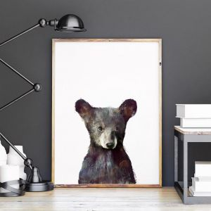 Little Bear by Amy Hamilton | Unframed Art Print