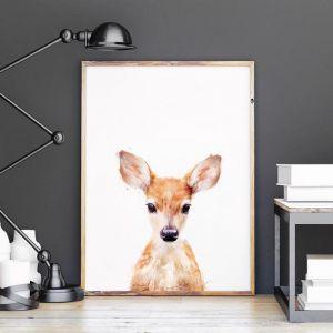 Little Deer by Amy Hamilton | Unframed Art Print
