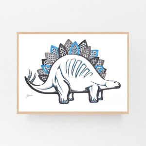 Little Foot the Dinosaur by Pick a Pear | Framed Wall Art