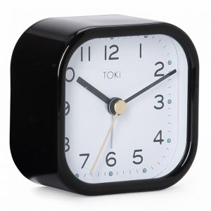 Liv Silent Alarm Clock |  Black