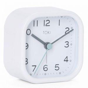 Liv Silent Alarm Clock | White