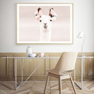 Llama Photo Art Print (Various Sizes)