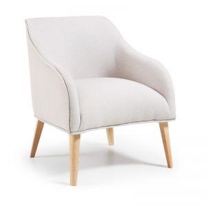 Lobby Upholstered Armchair | Beige