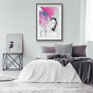 Lola Fuchsia | Art Poster | Art by 4 The Love of Paris