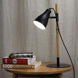 Lom Desk Lamp Black
