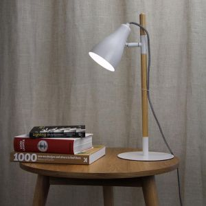 Lom Desk Lamp White