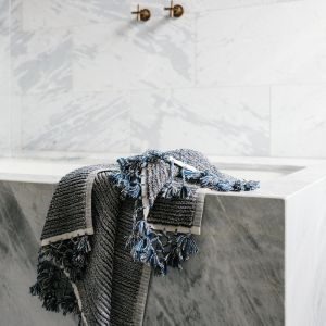 Loom Towels Navy Bath Mat