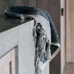 Loom Towels Navy Hand Towel