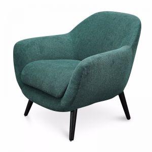 Lorene Fabric Armchair | Green