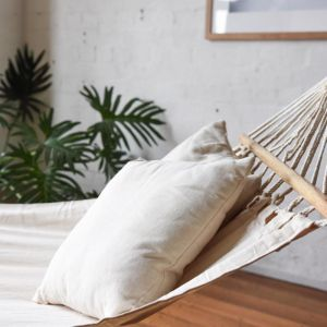 Lorne Hammock | Natural Cream Finish | by Collective Sol
