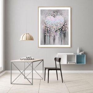 Love | P1015-11-3 | Framed Print | Colour Clash Studio