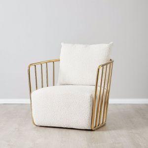 Lovelace Chair | Fabric | Neutral