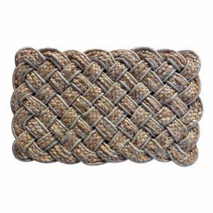 Lovers Knot Braided Jute Doormat
