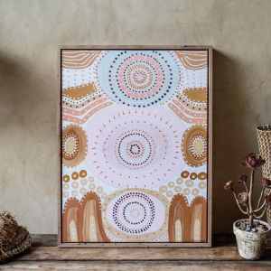 Lowanna Dreaming  | Framed Canvas Print | Various Sizes