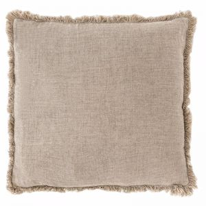 Luca Boho Cushion | Large | Natural