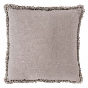 Luca Boho Cushion | Large | Silver Grey