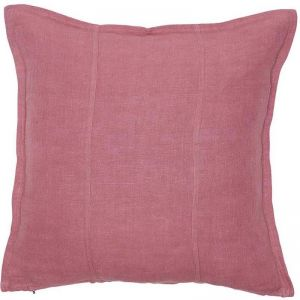 Luca Linen Cushion | Dusty Rose | Large