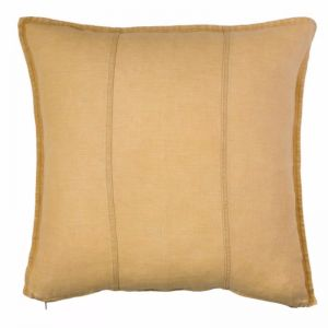 Luca Linen Cushion | Mustard | Large