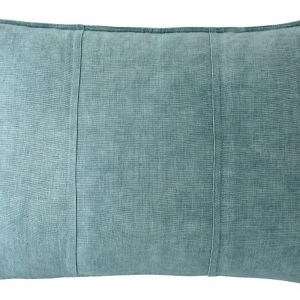 Luca Linen Cushion | Rectangle | Sea Mist