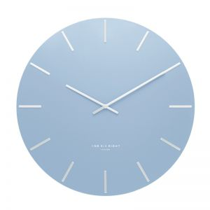 Luca Wall Clock | 40cm | Metal | Pastel Blue