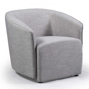 Lucian Armchair | Grey | Modern Furniture