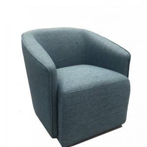 Lucian Armchair | Steel Blue | Modern Furniture