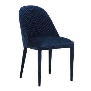Lucille Dining Chair | Navy Velvet | Pre Order