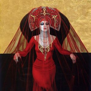 Lucrezia Borgia | Art Print | by Gill Del-Mace