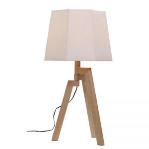 Ludvig Wood Veneer Table Lamp