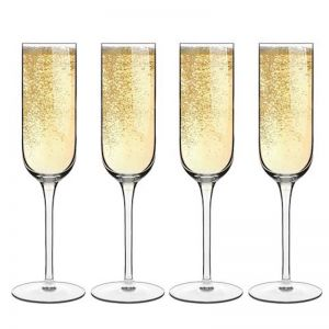 Luigi Bormioli Sublime Champagne Flute | Set of 4