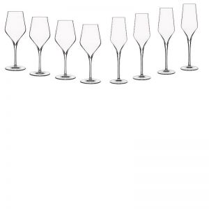 Luigi Bormioli Supremo Entertainers Glass Set | Set of 8