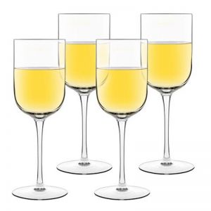 Luigi Bormioli White White Glass | Set of 4