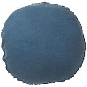 Lulu Cushion   Blue Azure
