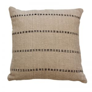 Lulu Cushion Cover | Taupe | by Raw Decor