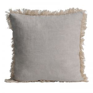 Lulu Linen Cushion   BY SEA TRIBE   Feather Filling