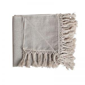 Lulu Linen Throw | BY SEA TRIBE