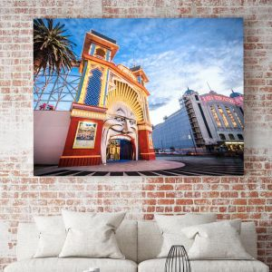 Luna Park Sunset in St Kilda I Limited Edition I Photographic Print or Canvas