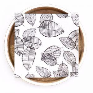 Lush Leaf Paper Napkins   Compostable 3 Ply