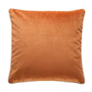 Luxury Velvet Cushion | Burnt Orange