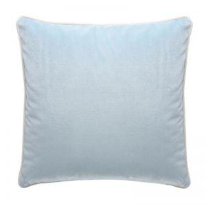 Luxury Velvet Cushion | Ice Blue