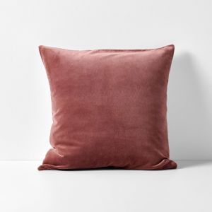 Luxury Velvet Cushion | Mahogany by Aura Home