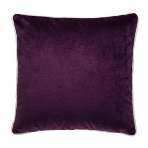 Luxury Velvet Cushion | Mulberry