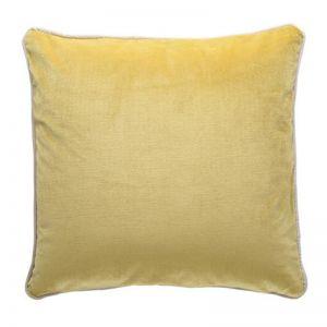 Luxury Velvet Cushion | Mustard