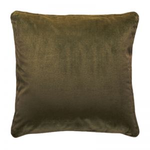 Luxury Velvet Cushion | Olive