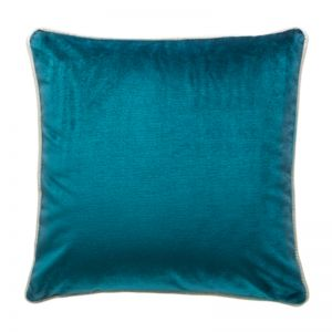 Luxury Velvet Cushion | Peacock