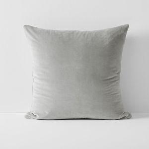 Luxury Velvet European Pillowcase | Dove by Aura Home