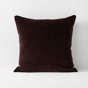 Luxury Velvet European Pillowcase | Fig by Aura Home