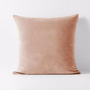 Luxury Velvet European Pillowcase | Rosewater | by Aura Home