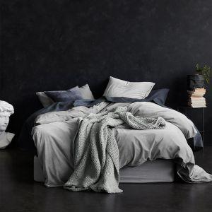 Luxury Velvet Quilt Cover   Dove by Aura Home